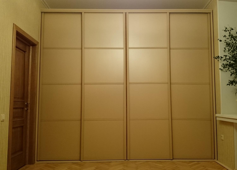Встроенный шкаф-купе эконом - шкафы-купе - наши работы - шка.