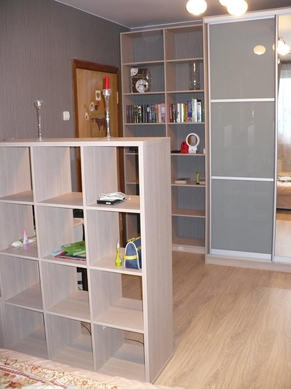 Шкаф-купе, стеллаж для книг и стеллаж-перегородка - шкафы-ку.